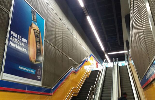 Publicidad en el Metro, otra forma de recaudar ingresos